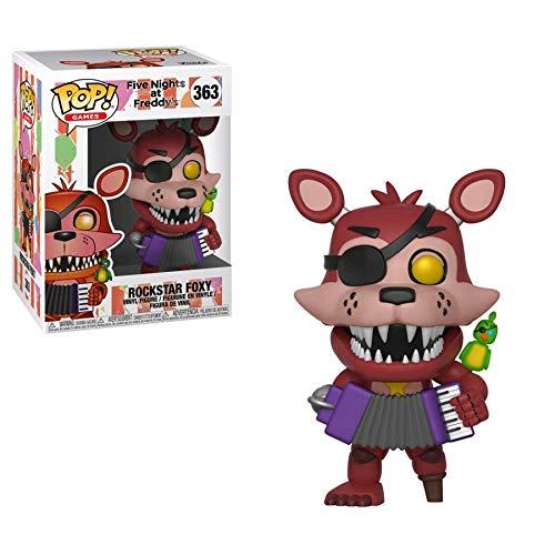 Pop! Five Nights At Freddy S - Figura de Vinilo Rockstar Foxy