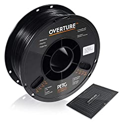 OVERTURE PETG Filament 1.75mm with 3D Bu...