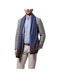 Evedaily Men's Cashmere Scarf Classic Leisure Business Neck Scarf