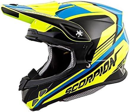 Scorpion スコーピオン VX-R70 ASCEND Helmet 2016モデル オフロード ヘルメット イエロー/ブルー XS(53~54cm)