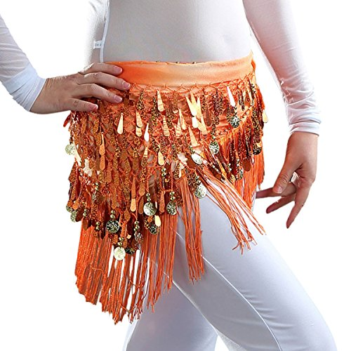 Orange Hip Scarf - 9