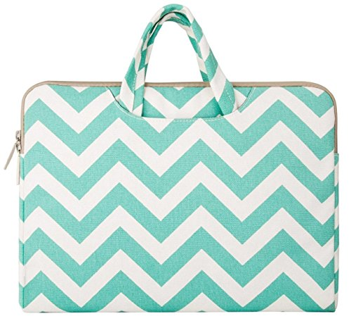 Mosiso Chevron Briefcase Carrying Ultrabook