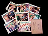 #2: FREAKS 1932 TOD BROWNING COMPLETE LOBBY CARD SET MINT SUPER RARE!!
