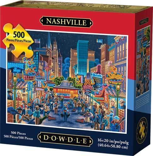 Dowdle Jigsaw Puzzle - Nashville - 500 Piece