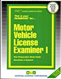Motor Vehicle License Examiner 1, Jack Rudman, 0837319374