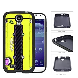 linJUN FENGJDM Series Rubber Silicone Phone Case Cover Samsung Galaxy s4 sIV I9500 (Yellow)