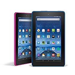 Fire Tablet Variety Pack, 8GB - Includes Special Offers (Blue/Magenta)