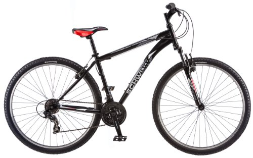 Cheap Schwinn High Timber Mountain Bicycle, Matte Black, 29-Inch
