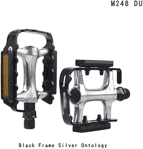 WOOAI Pedales de Bicicleta MTB M248 Aleación de Aluminio Piezas de ...