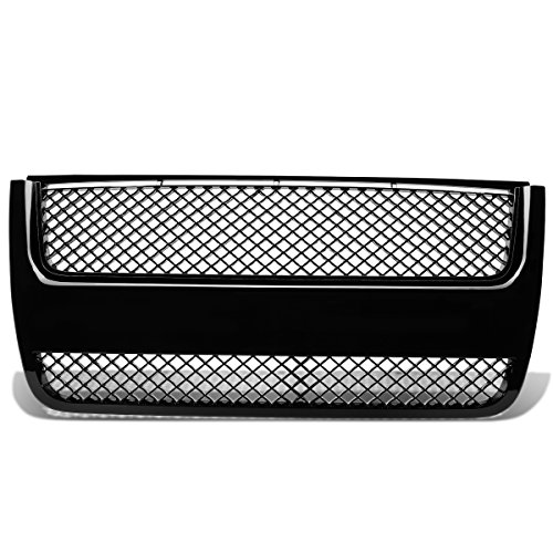 For 07-10 Ford Explorer ABS Plastic Mesh Bentley Style Front Bumper Grille (Black) - 4th Gen U251