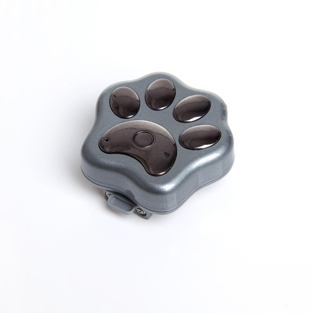 GPS Pet Tracker, Sacow Smart WiFi Pet GPS Tracker Remote Wireless Finder Dog Cat Collar Locator SCA (Black)