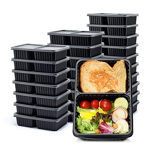food containers two compartments - 5