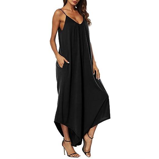 cc3acd0a10f Amazon.com  Women s Baggy Plus Size Jumpsuit