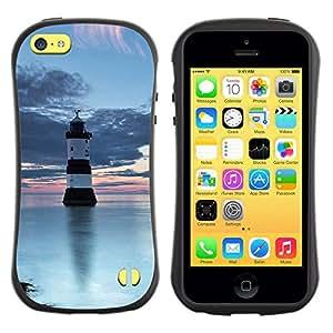 Suave TPU GEL Carcasa Funda Silicona Blando Estuche Caso de protección (para) Apple Iphone 5C / CECELL Phone case / / Nature Beautiful Forrest Green 99 /