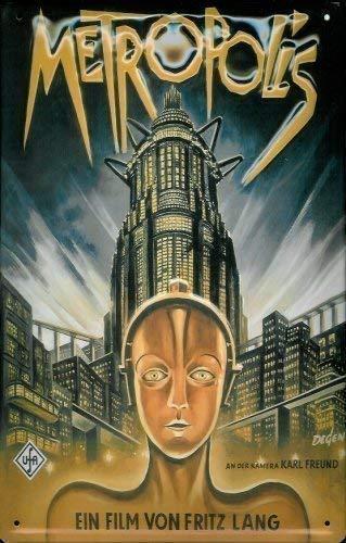 Metropolis Hochhaus Fritz Lang Cartel de chapa Cartel Chapa ...