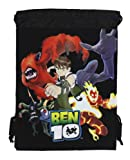 Black Ben 10 Drawstring Bag - Ben 10 Drawstring Backpack