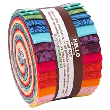 Amazon valori wells blueprint basics spring colorway half valori wells blueprint basics spring colorway half jelly roll 20 quilting strips 25quot malvernweather Images