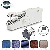 Upgraded Handheld Sewing Machine,Portable Cordless Handheld Sewing Machine Stitch Sew Quick Not Off-line Mini Sewing Machine for Silk, Jeans,Leather, Denim, Wool,Drapes, Toy Crafts