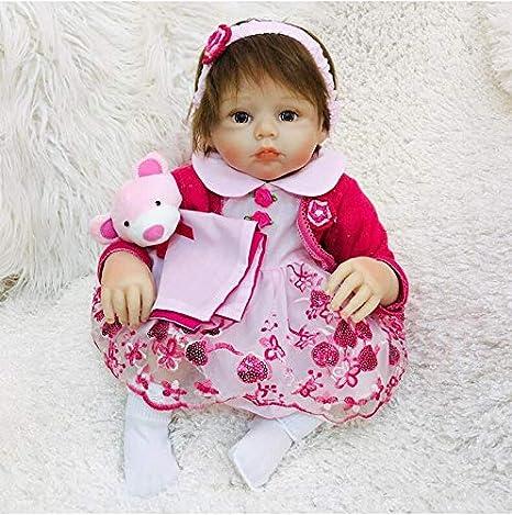 OtadDolls 20inch 50cm Bebe Reborn niña Silicona Realista muñecas ...