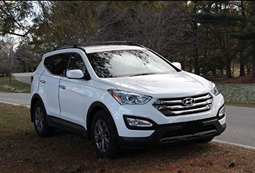 BRIGHTLINES 2013-2018 Hyundai Santa Fe & 2019 Santa Fe XL Cross Bars Roof Racks