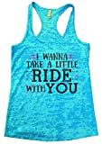 """Jason Aldean Country Music Tour Tank """"I Wanna Take A Little Ride"""" - Funny Threadz® Large, Blue offers"""