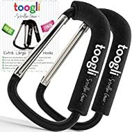 X-Large Stroller Hook Set for Mommy By Toogli. Two Great...