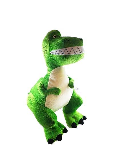 Amazon Com Disney Pixar Toy Story 14 Inch Plush Toy Rex Toys Games