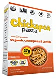 Chickapea Organic Chickpea and Red Lentil Pasta, Shells (6 Pack, Boxed)