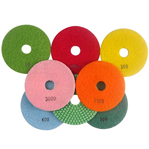 Konfor Diamond Polishing Pads 5