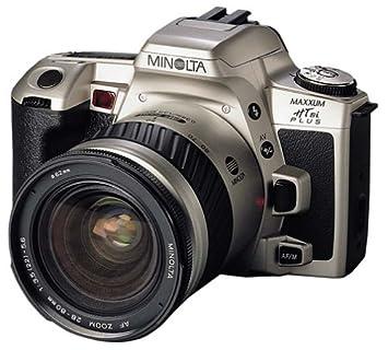 Amazon.com : Minolta Maxxum HTsi Plus 35mm SLR Camera Kit w/ 28 ...