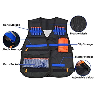 Tactical Vest Kit For N-Strike Elite Series