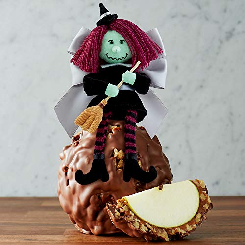 Mrs Prindables Milk Chocolate Walnut Pecan Wacky Witch Jumbo Caramel Apple -