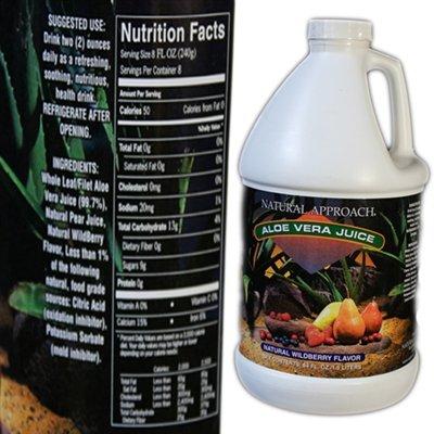 (Natural Approach Aloe Vera Juice 64 fl oz)