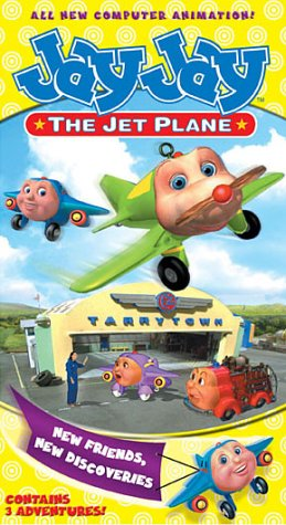 Jay Jay The Jet Plane - New Friends, New Discoveries [VHS]