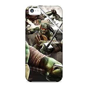 Slim Fit Protector Shock Absorbent Bumper Teenage Mutant Ninja Turtles Out Of The Shadows Game Cases For Iphone 5c