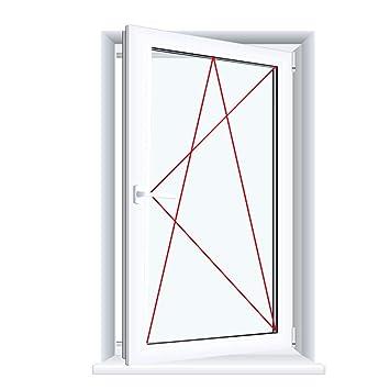 Gut gemocht Kunststofffenster Badfenster Ornament Chinchilla Weiss Dreh/Kipp XZ68