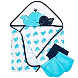 Gerber 4-Piece Hooded Towel and Washcloth Set