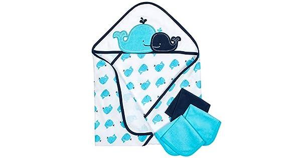 Amazon.com: Gerber - Juego de 4 toallas con capucha: Baby