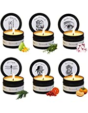 Scented Candles Gift Set, 6 Pack Soy Candles for Home Scented, Aromatherapy Candles Gift for Women, Stress Relief, Smokeless Scented Candle Bulk for Relaxation, Decor, Christmas, Bath, Yoga, Birthday