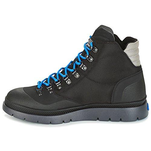 Palladium Boots Multicolore Mid Hiker Black Black Pallasider Black Uomo rIwUZfr