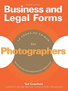 Business and Legal Forms for Photographers by Allworth Press