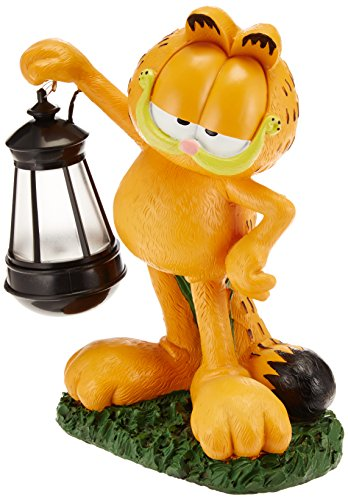 Disney Garden Gnomes (Woods International Garfield The Cat LED Lighted Statue)