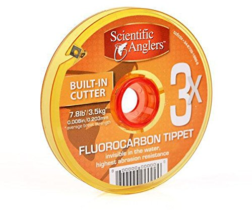 3M Scientific Anglers Premium Fluorocarbon Tippet Line, 3X