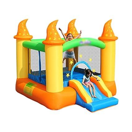 Amazon.com: Inflable castillo niños deslizamiento inflable ...
