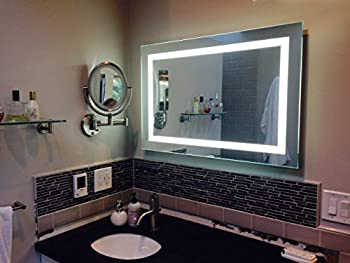 Lighted Image LED Bordered Illuminated Mirror