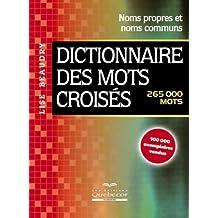 Dictionnaire des mots croisés (265,000 mots)