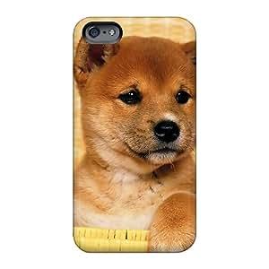 Bumper Hard Phone Case For Apple Iphone 6s (URT1279MhwF) Allow Personal Design Fashion Cute Shiba Inu Puppy Image