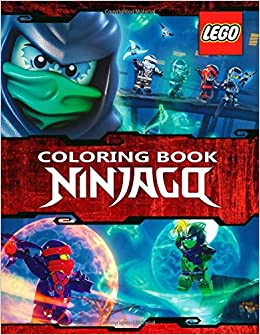 Amazon.com: LEGO NINJAGO Coloring Book: Great 59 ...