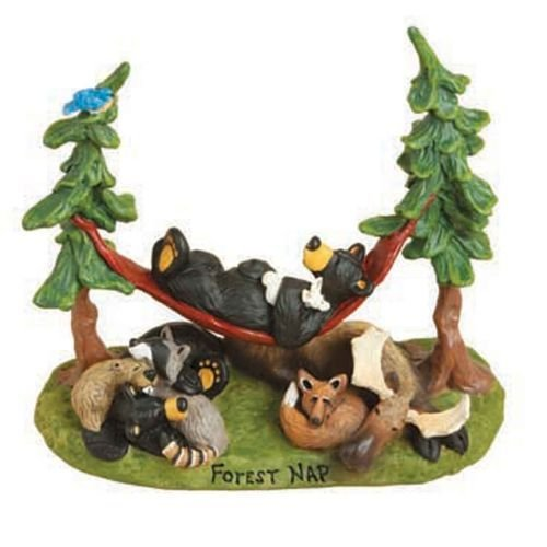 Bearfoots Bears Forest Nap Figurine (Big Sky Carvers Moose)