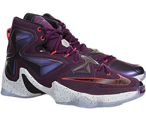 Pictures of Nike Men's Lebron XIII Mulberry/Blk/ 5